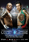 Miguel Cotto vs. Sergio Martinez HD Blu-Ray