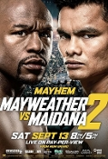 Floyd Mayweather Jr. vs. Marcos Maidana II HD Blu-Ray