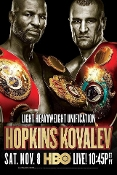 Sergey Kovalev vs. Bernard Hopkins HD Blu-Ray