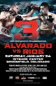 Mike Alvarado vs. Brandon Rios III HD Blu-Ray