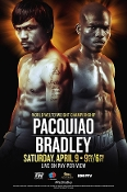 Manny Pacquiao vs. Timothy Bradley III HD Blu-Ray