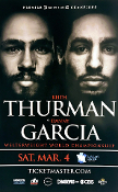 Keith Thurman vs. Danny Garcia HD Blu-Ray