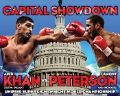 Lamont Peterson vs. Amir Khan HD Blu-Ray
