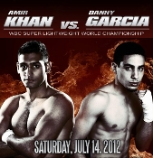 Danny Garcia vs. Amir Khan HD Blu-Ray