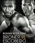 Adrien Broner vs. Vincente Escobedo HD Blu-Ray