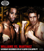 Paul Williams vs. Sergio Martinez I HD Blu-Ray