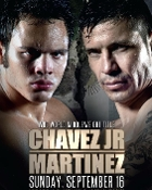Sergio Martinez vs. Julio Cesar Chavez Jr. HD Blu-Ray