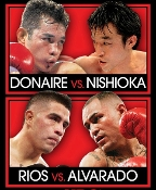 Nonito Donaire vs. Toshiaki Nishioka HD Blu-Ray