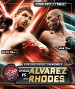 Canelo Alvarez vs. Ryan Rhodes HD Blu-Ray