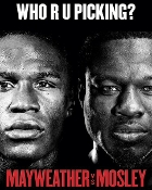 Floyd Mayweather Jr. vs Shane Mosley HD Blu-Ray
