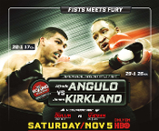 James Kirkland vs. Alfredo Angulo HD Blu-Ray