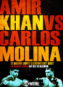 Amir Khan vs. Carlos Molina HD Blu-Ray