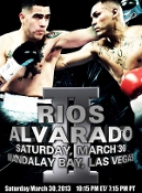 Mike Alvarado vs. Brandon Rios II HD Blu-Ray