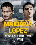 Marcos Maidana vs. Josesito Lopez HD Blu-Ray
