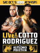 Miguel Cotto vs. Delvin Rodriguez HD Blu-Ray