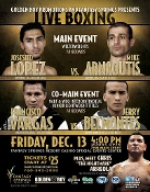 Josesito Lopez vs. Mike Arnaoutis HD Blu-Ray