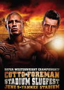 Miguel Cotto vs. Yuri Foreman HD Blu-Ray