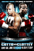 Miguel Cotto vs. Joshua Clottey HD Blu-Ray