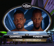 Nate Campbell vs. Ali Funeka HD Blu-Ray