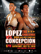 Juan Manuel Lopez vs. Bernabe Concepcion HD Blu-Ray