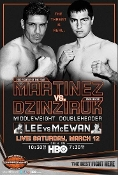 Sergio Martinez vs. Sergiy Dzinziruk HD Blu-Ray