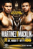 Sergio Martinez vs. Matthew Macklin HD Blu-Ray