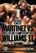Sergio Martinez vs. Paul Williams II HD Blu-Ray