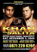 Amir Khan vs. Dmitry Salita HD Blu-Ray
