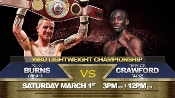 Terence Crawford vs. Ricky Burns HD Blu-Ray