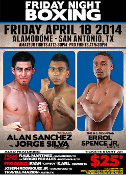 Alan Sanchez vs. Jorge Silva HD Blu-Ray