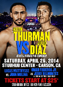 Keith Thurman vs. Julio Diaz HD Blu-Ray