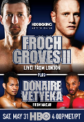 Carl Froch vs. George Groves II HD Blu-Ray