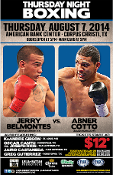 Abner Cotto vs. Jerry Belmontes HD Blu-Ray