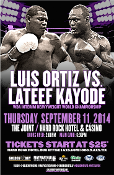 Luis Ortiz vs. Lateef Kayode HD Blu-Ray