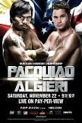 Manny Pacquiao vs. Chris Algieri HD Blu-Ray