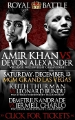 Amir Khan vs. Devon Alexander HD Blu-Ray