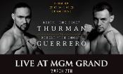 Keith Thurman vs. Robert Guerrero HD Blu-Ray