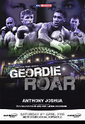 Anthony Joshua vs. Jason Gavern HD Blu-Ray