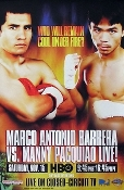 Manny Pacquiao vs. Marco Antonio Barrera I HD Blu-Ray