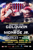 Gennady Golovkin vs. Willie Monroe Jr. HD Blu-Ray