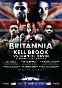 Kell Brook vs. Frankie Gavin HD Blu-Ray