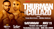 Keith Thurman vs. Luis Collazo HD Blu-Ray