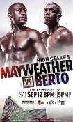 Floyd Mayweather Jr. vs. Andre Berto HD Blu-Ray