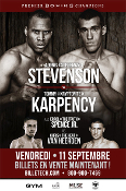 Adonis Stevenson vs. Tommy Karpency HD Blu-Ray