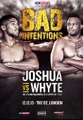 Anthony Joshua vs. Dillian Whyte HD Blu-Ray