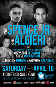 Errol Spence Jr. vs. Chris Algieri HD Blu-Ray
