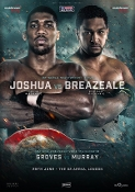 Anthony Joshua vs. Dominic Breazeale HD Blu-Ray