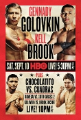 Gennady Golovkin vs. Kell Brook HD Blu-Ray
