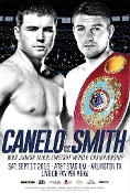 Canelo Alvarez vs. Liam Smith HD Blu-Ray