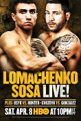 Vasyl Lomachenko vs. Jason Sosa HD Blu-Ray